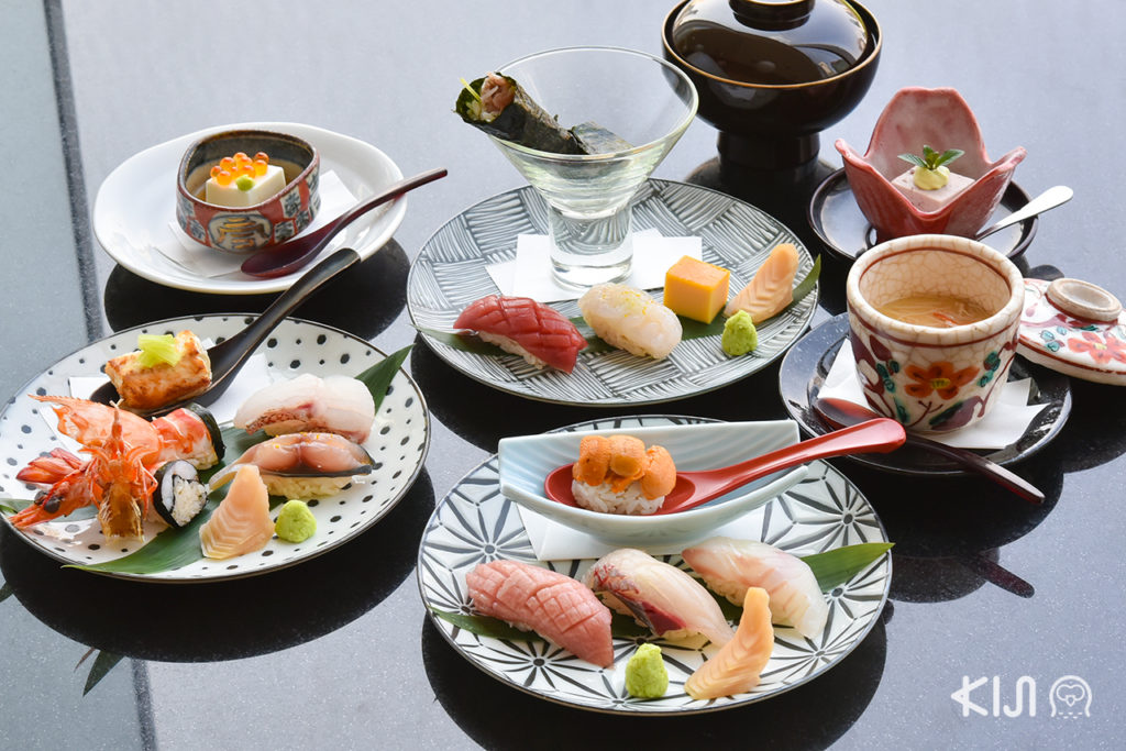 Special Omakase 10 Pieces made by Sushi Hinata