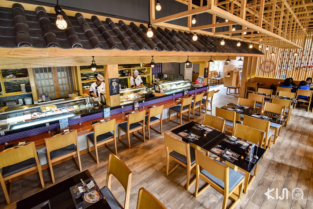 บรรยากาศภายในร้าน Hoshi Japanese Restaurant