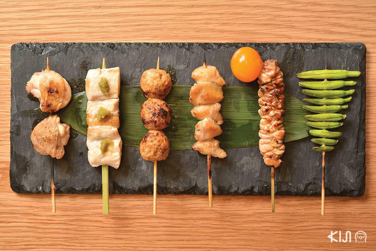 Shin Yakitori, ยากิโทริ, ร้านอาหารญี่ปุ่น, Yakitori