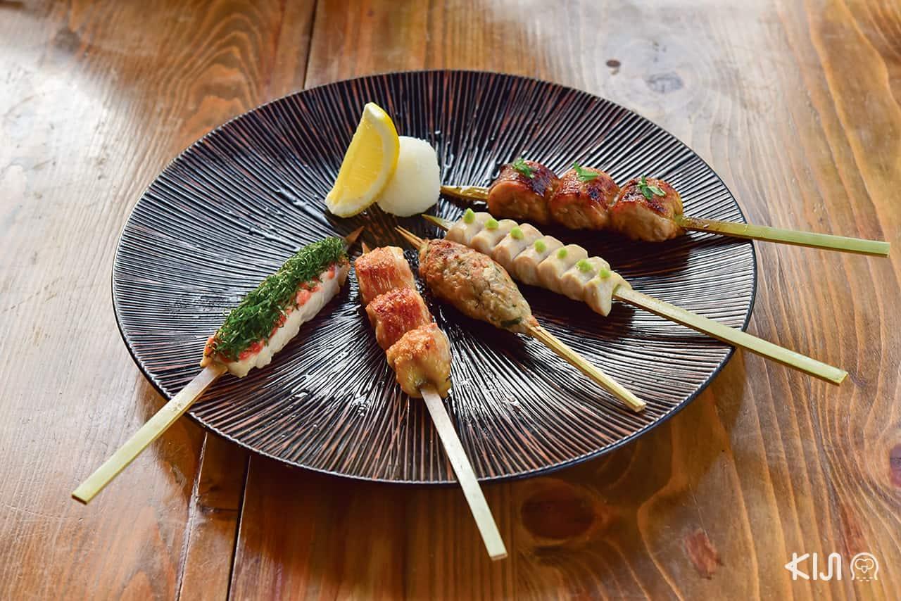 Gen, ยากิโทริ, ร้านอาหารญี่ปุ่น, Yakitori