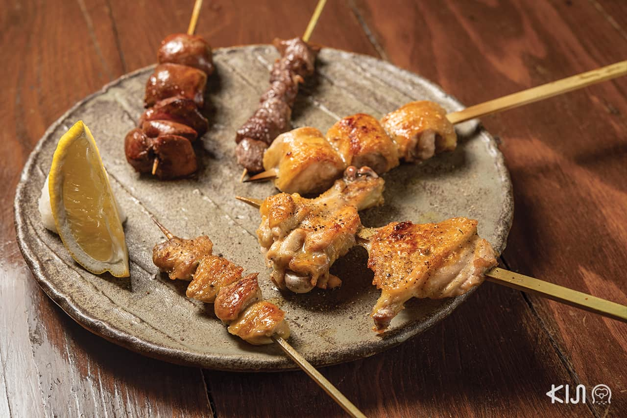Jidori Cuisine Ken, ยากิโทริ, ร้านอาหารญี่ปุ่น, Yakitori