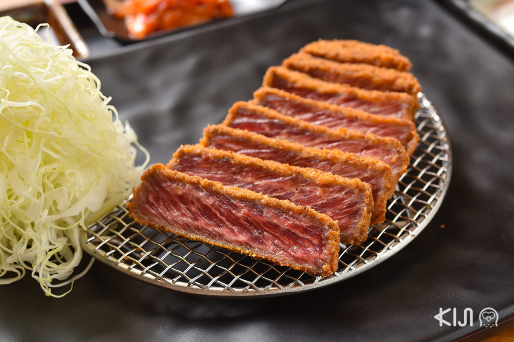 Gyu Katsu Set : Australian Beef (529 บาท)