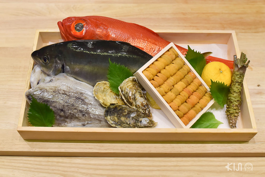 Shinkanzen Omakase รับประกับควาสดใหม่ด้วยการนำเข้าวัตถุดิบอาทิตย์ละ 4 ครั้ง