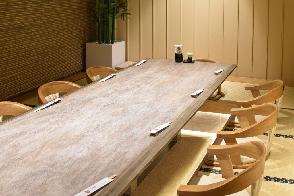 ห้องแบบ private ไทโย ซูชิ