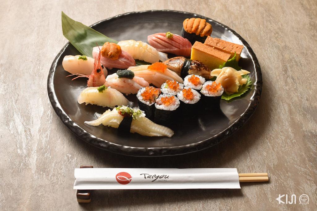 Taiyou Sushi - Nigiri Moriawase-Taiyou