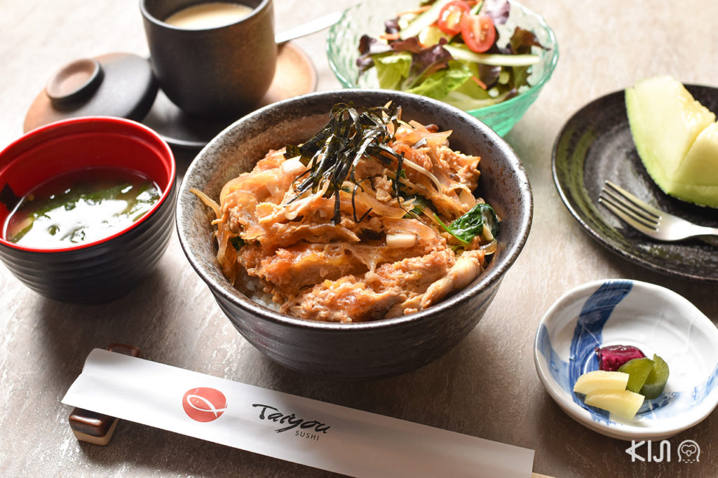 Taiyou Sushi - Katsu Don Set