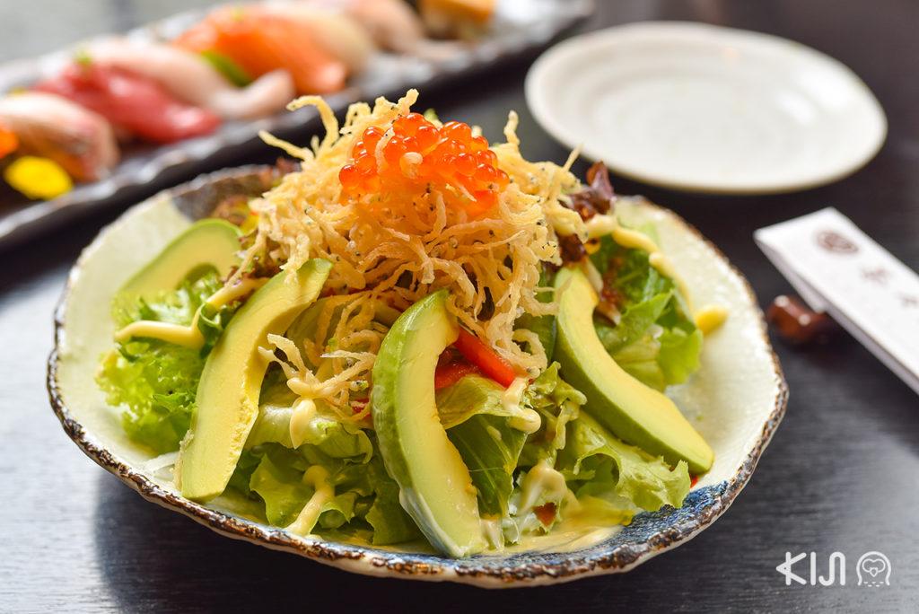 เมนูของร้าน Cha Cha An - Shirauo Salad (280 บาท)