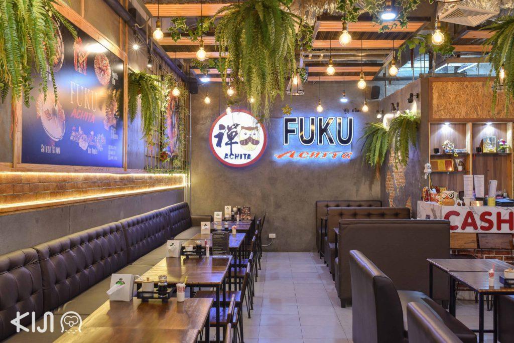 บรรยากาศภายในร้าน Achita Sushi Bar by FUKU
