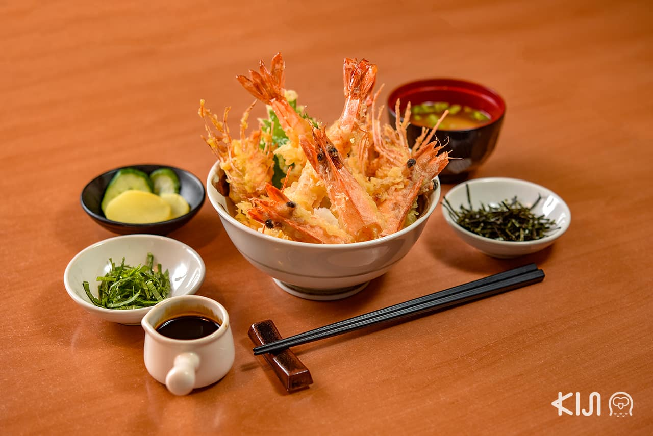 Tempura Ya - Large Shrimp Tempura Rice Bowl