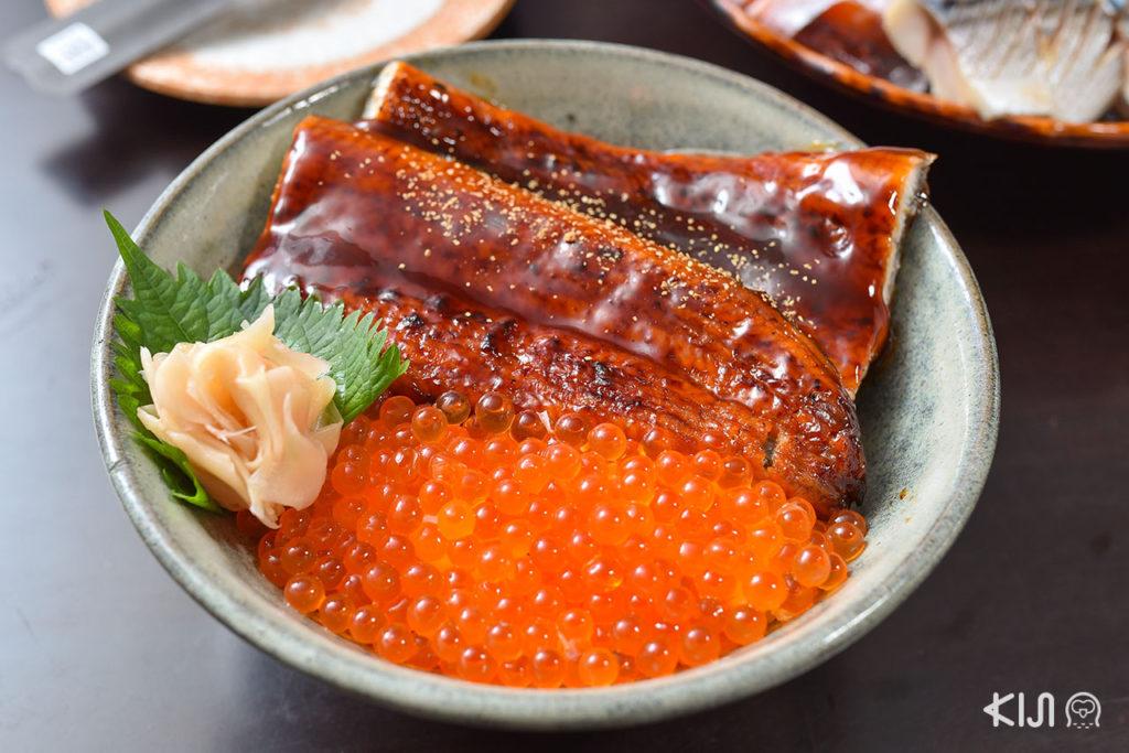 ข้าวหน้าปลาไหลย่าง Tatsu Bangna