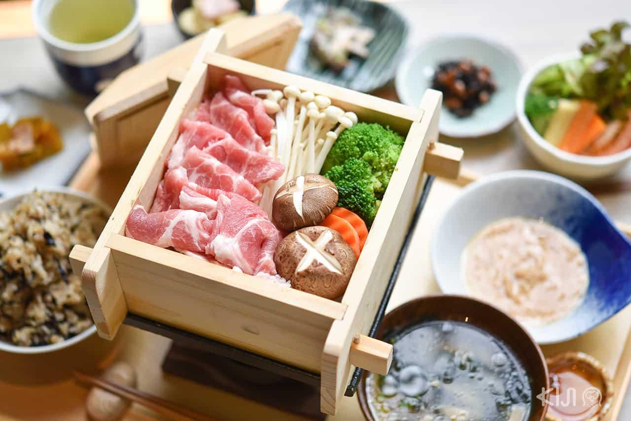 ร้าน อาหารญี่ปุ่น Ari Recipe - Mushi Shabu Buta