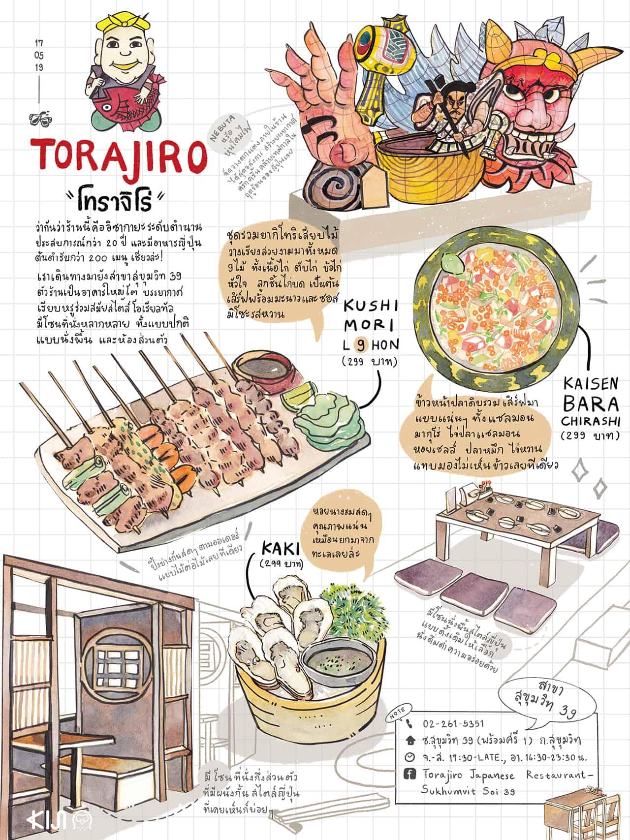 อาหารญี่ปุ่น Torajiro