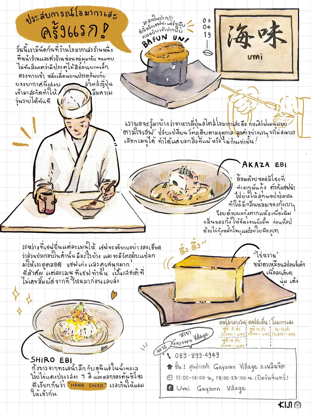 อาหารญี่ปุ่น Umi (อุมิ)