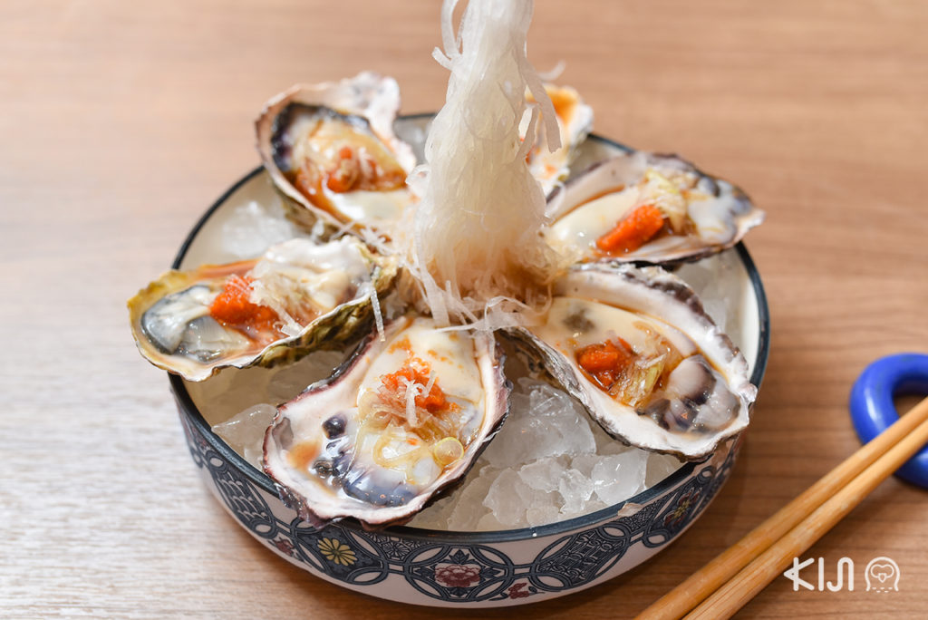 Sachinomi Sushi - Oyster Sashimi