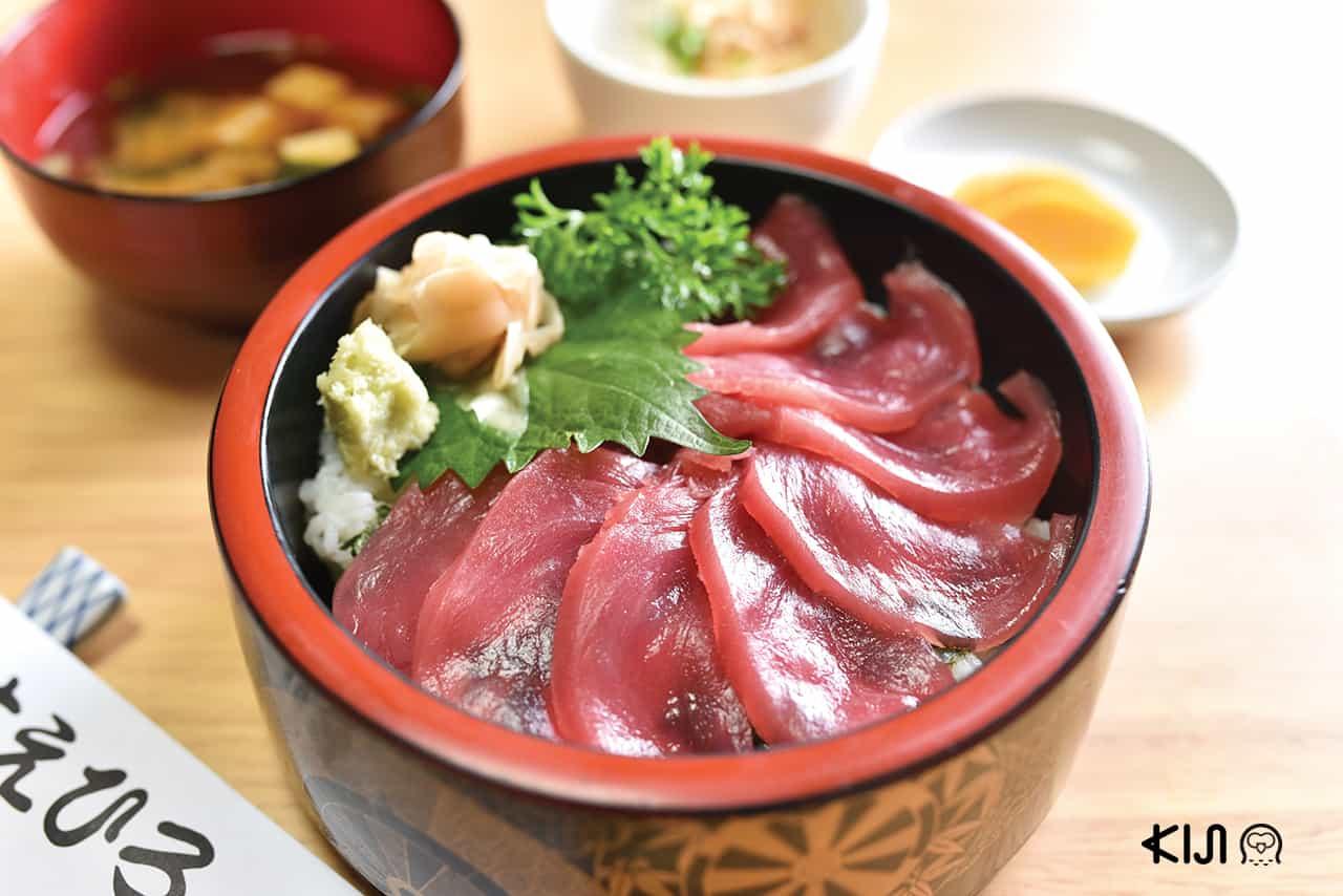 ดงบุริ ข้าวหน้ามากุโร่ Suehiro