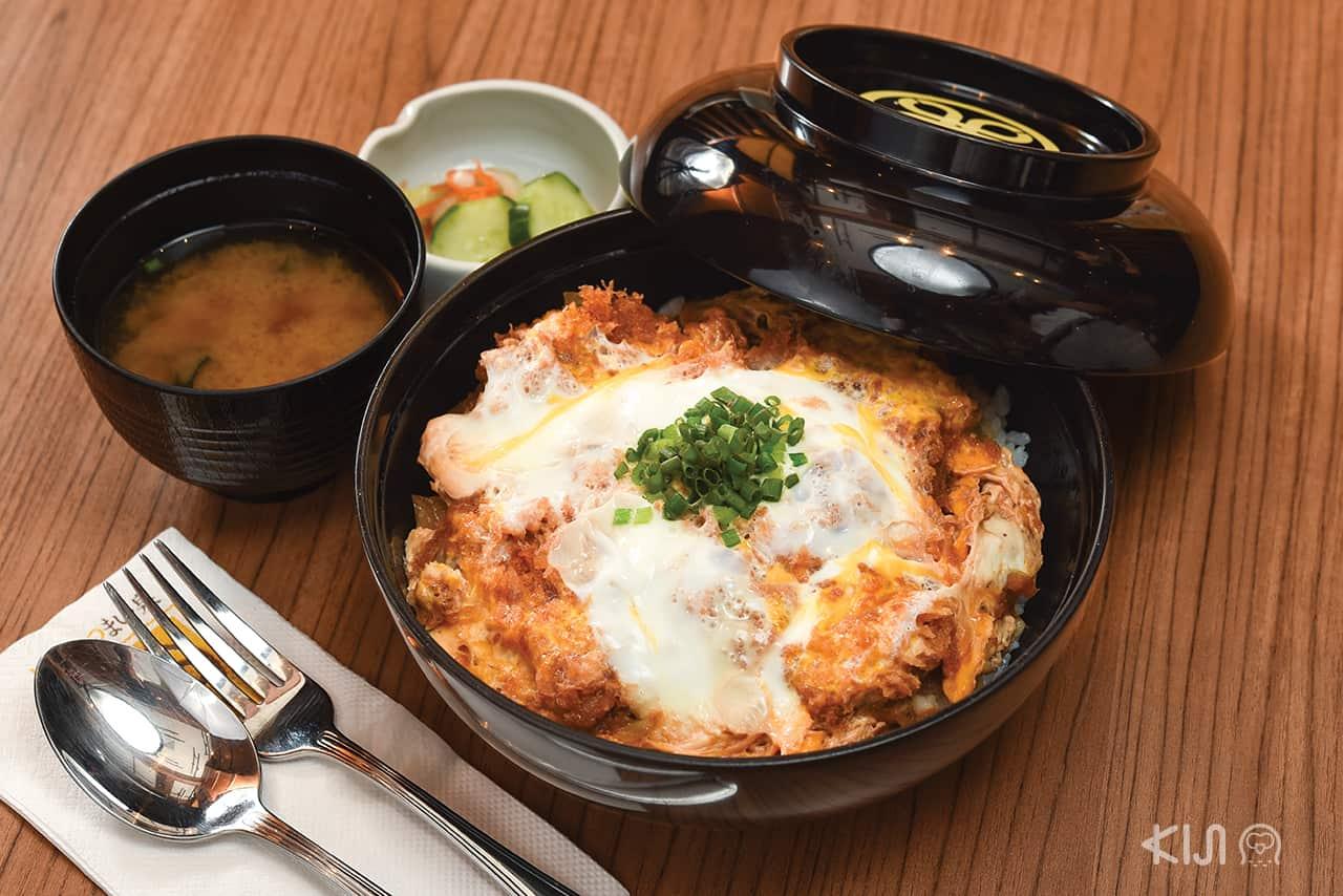 ดงบุริ - คัตสึด้ง (Katsudon : カツ丼)