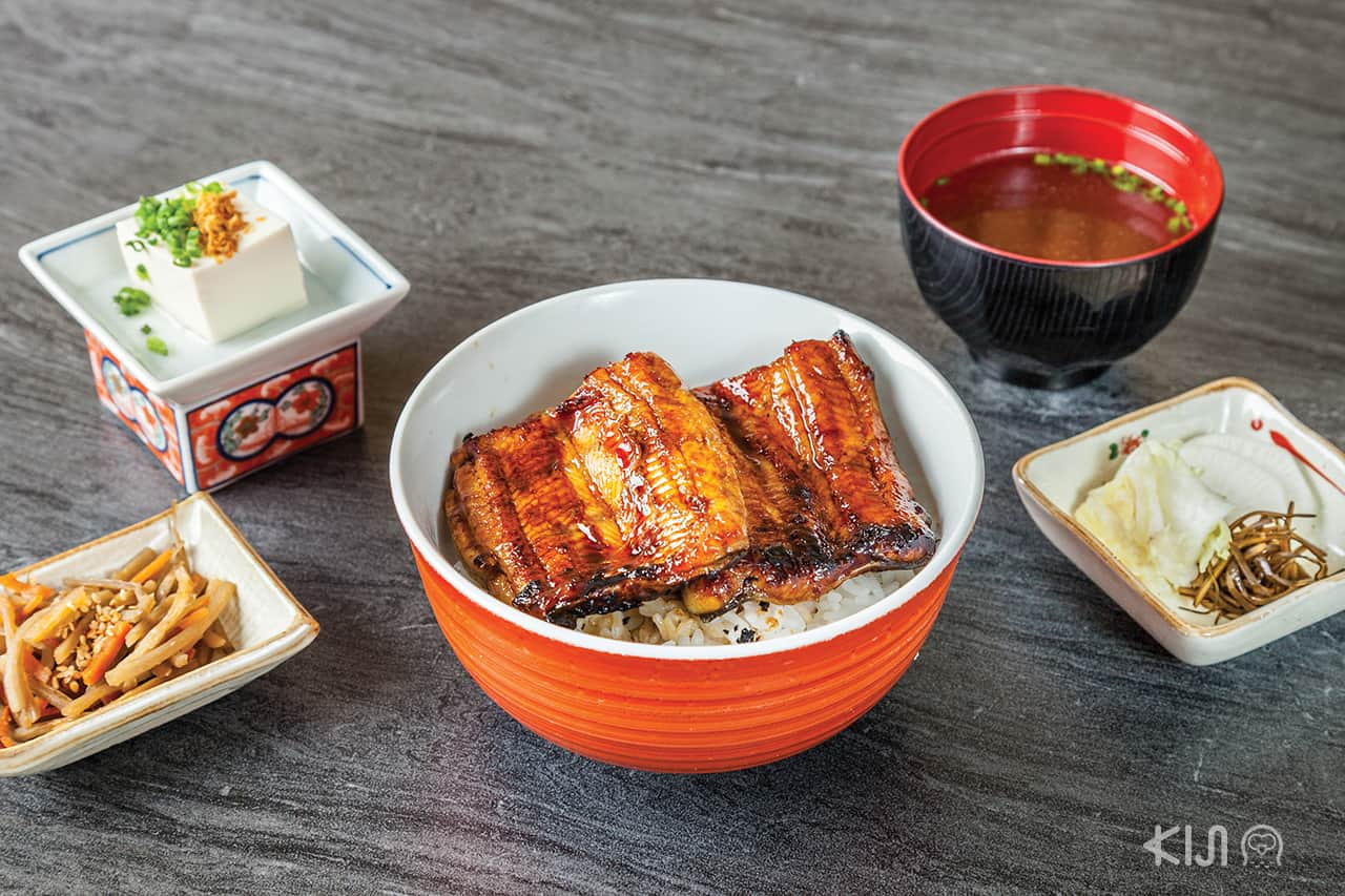 ดงบุริ ข้าวหน้าปลาไหล Kensaku