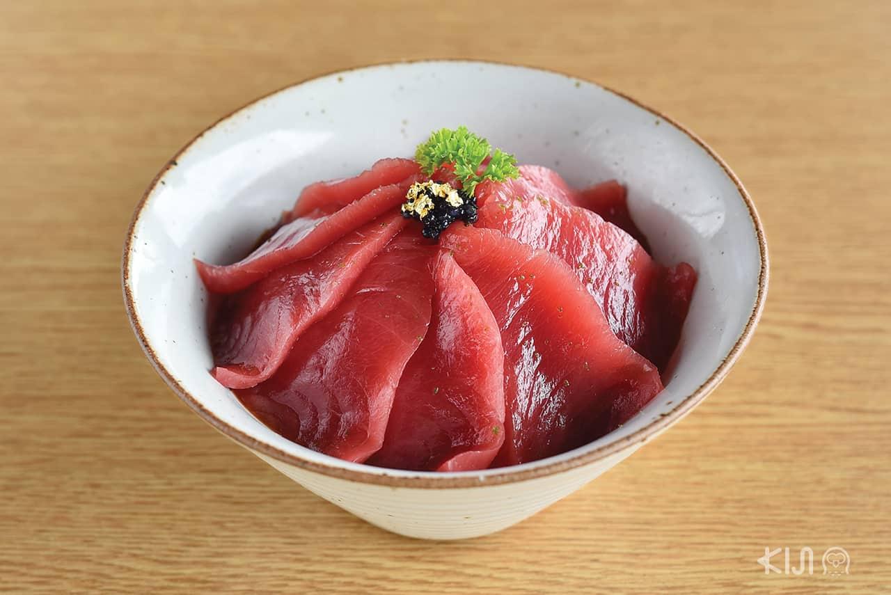 ดงบุริ - เทกกะด้ง (Tekkadon : 鉄火丼)