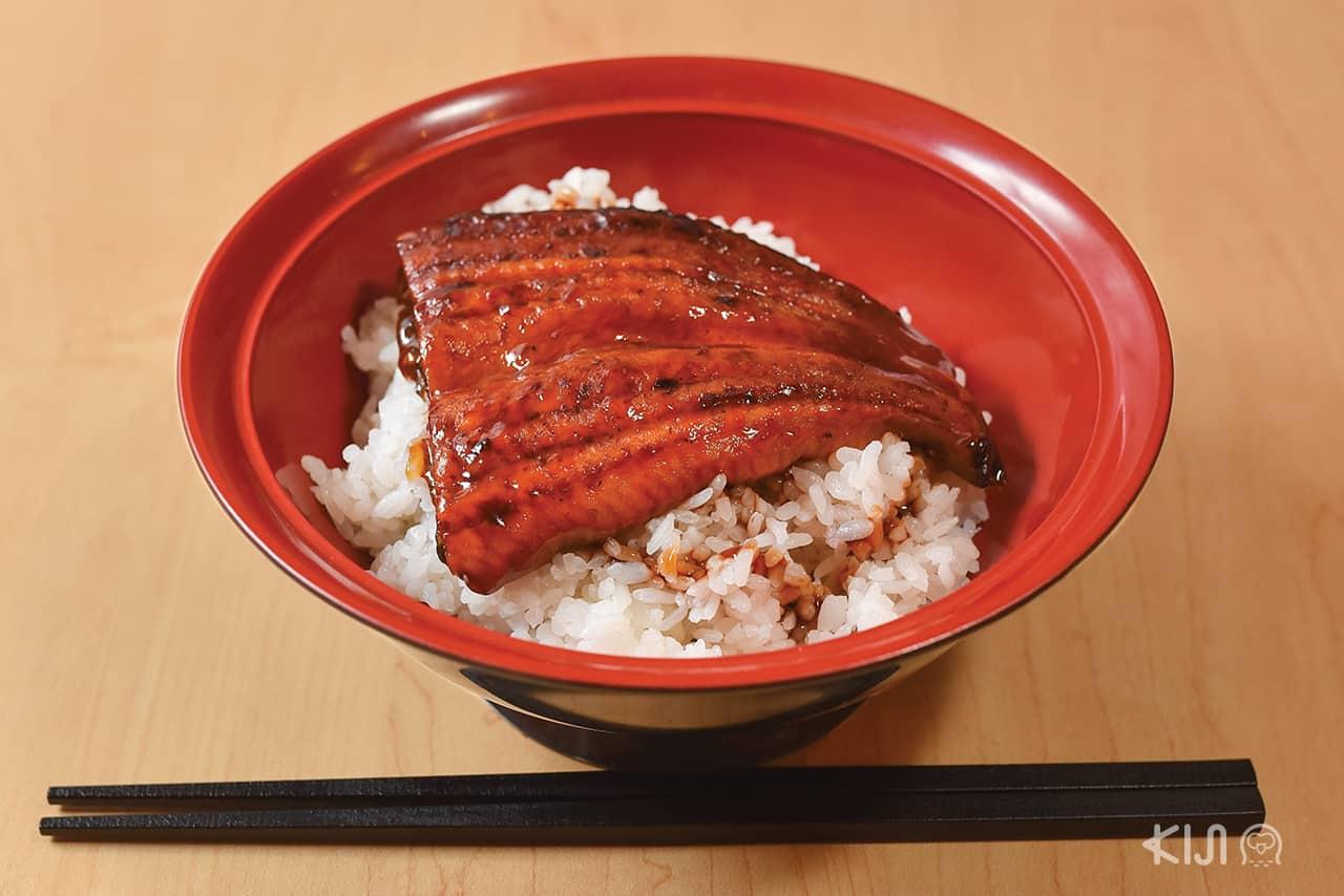 ดงบุริ - อุนาด้ง (Unadon : 鰻丼)
