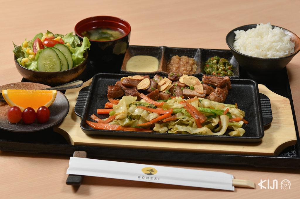 ร้านอาหารญี่ปุ่น Bonsai Japanese Restaurant