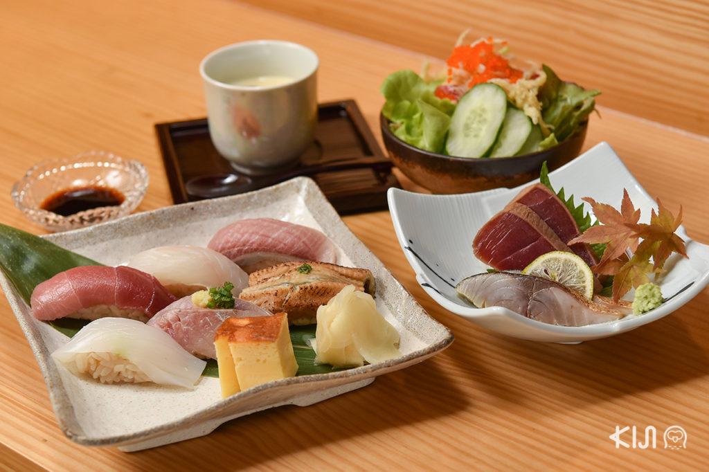 ร้าน Bonsai Japanese Restaurant รีวิว
