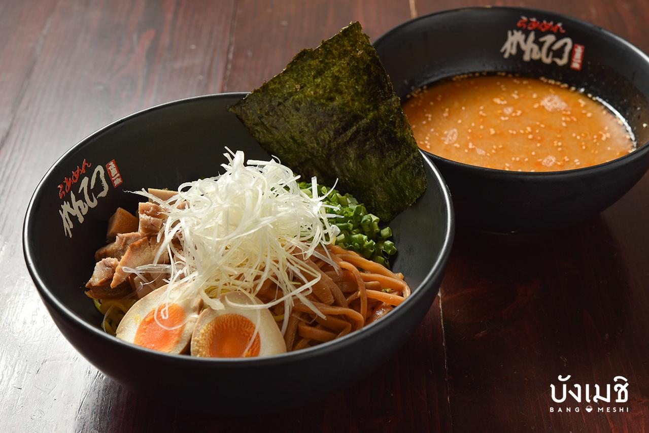 สึเคเมน (Tsukemen) จากร้าน Hokkaido Ramen Gantetsu