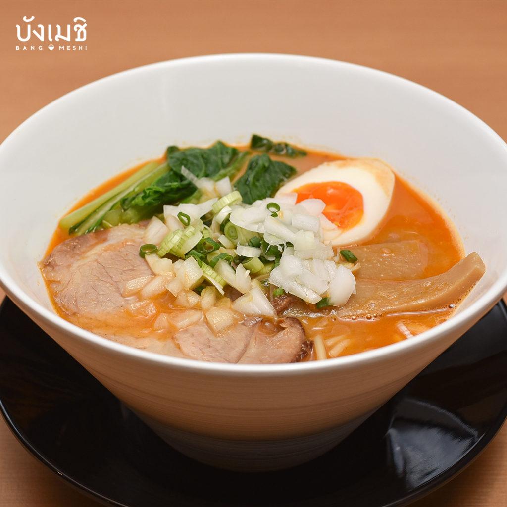 อาหาร ฮอกไกโด ในกรุงเทพ : Hokkaido Style Ramen Danryuya