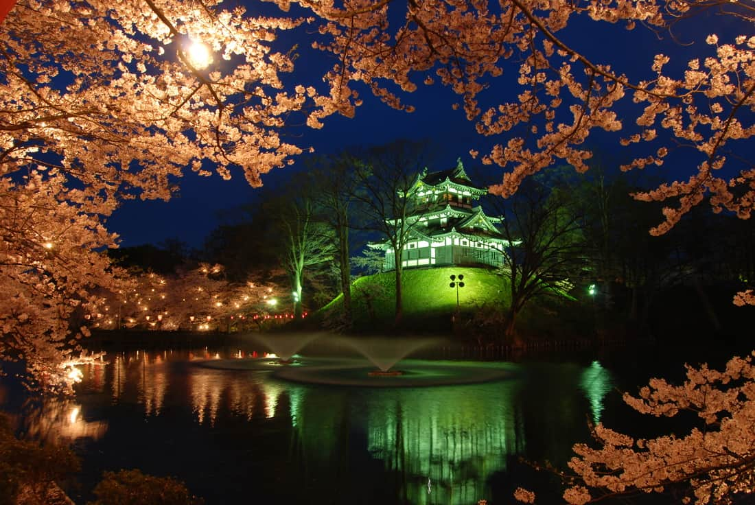 Takada Castle in Niigata