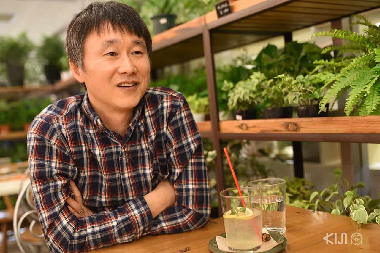 ฟุคุดะ โทชิยูกิ เจ้าของแบรนด์ TENP