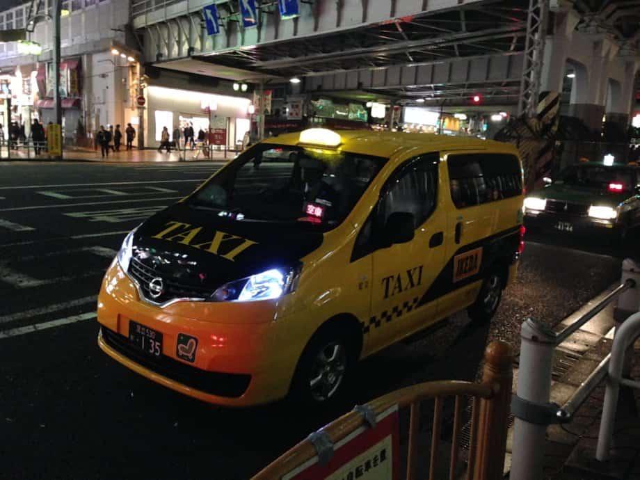 Taxi ญี่ปุ่น ถ้าเห็น 空車 = ว่าง โบกเรียกได้เลย