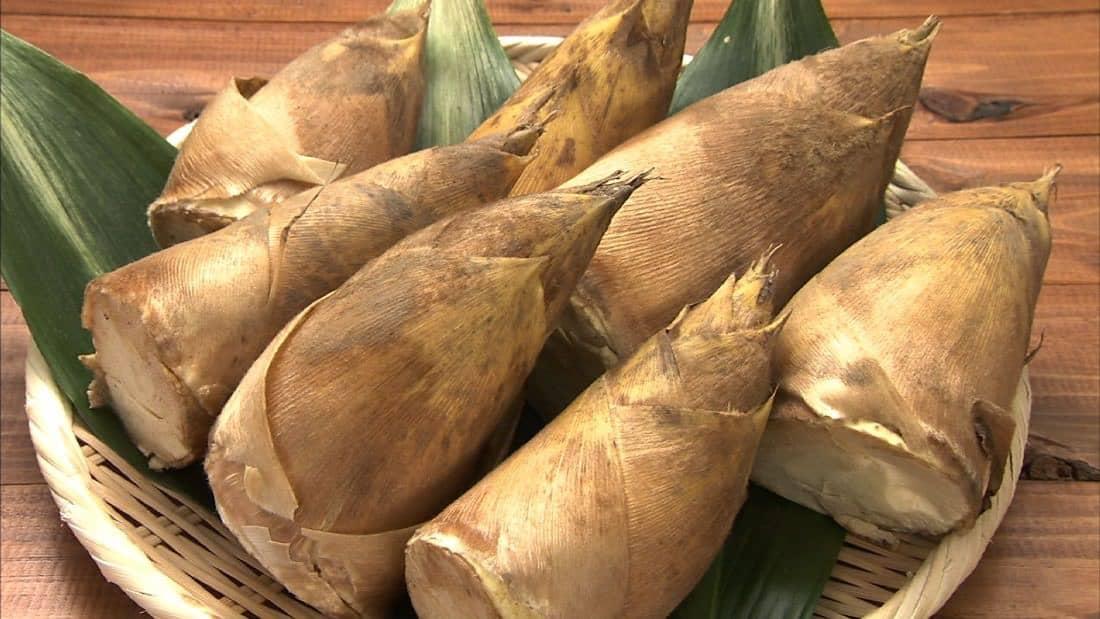 อาหารประจำฤดูใบไม้ผลิของญี่ปุ่น : หน่อไม้