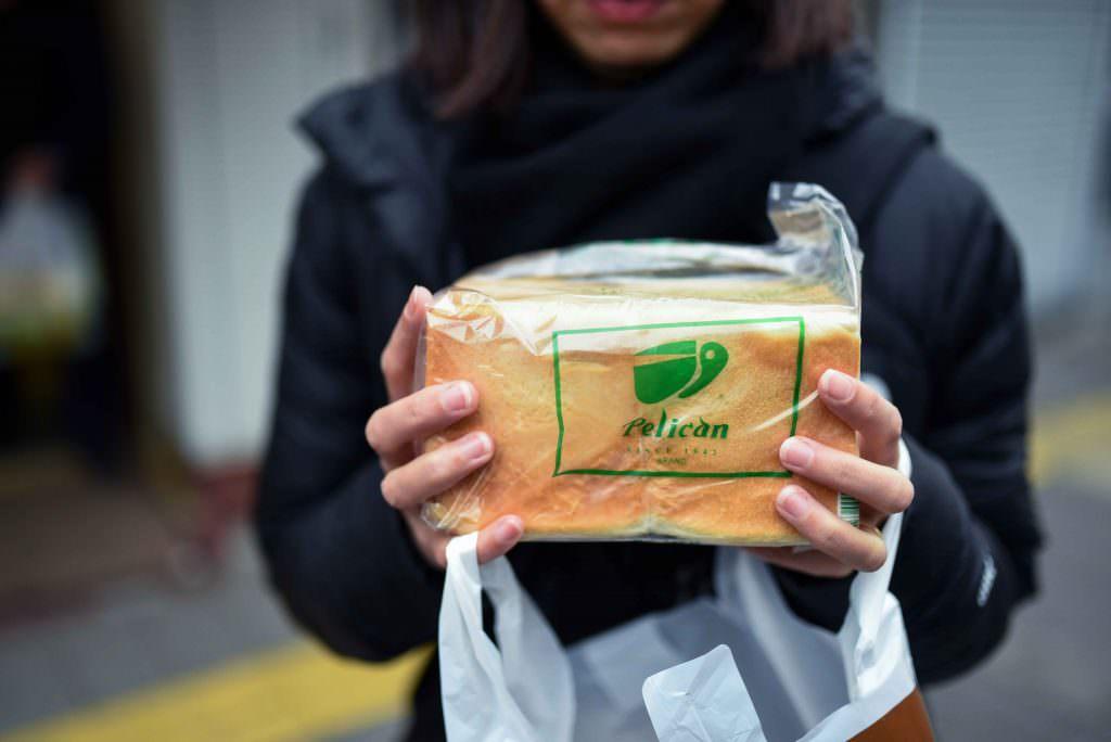 ร้านขนมปังเพลิแกน (Pelican Bread) ใกล้ๆกับวัดเซ็นโซจิ
