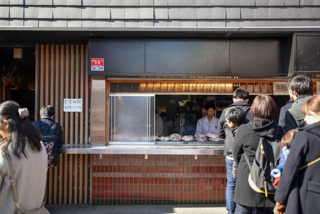 ร้านอิเซยะ (ISEYA) ร้านขายยากิโทริ ในย่านคิชิโจจิ (Kichijoji)