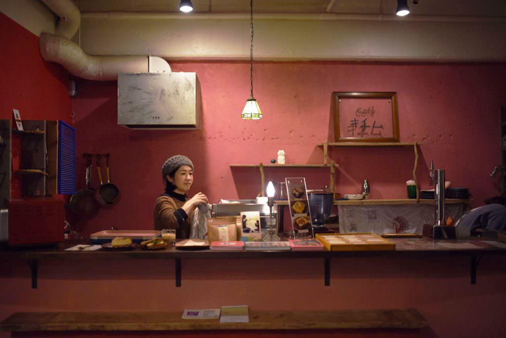 บรรยากาศภายร้าน KICHIMU CAFE ในย่านคิชิโจจิ (Kichijoji)