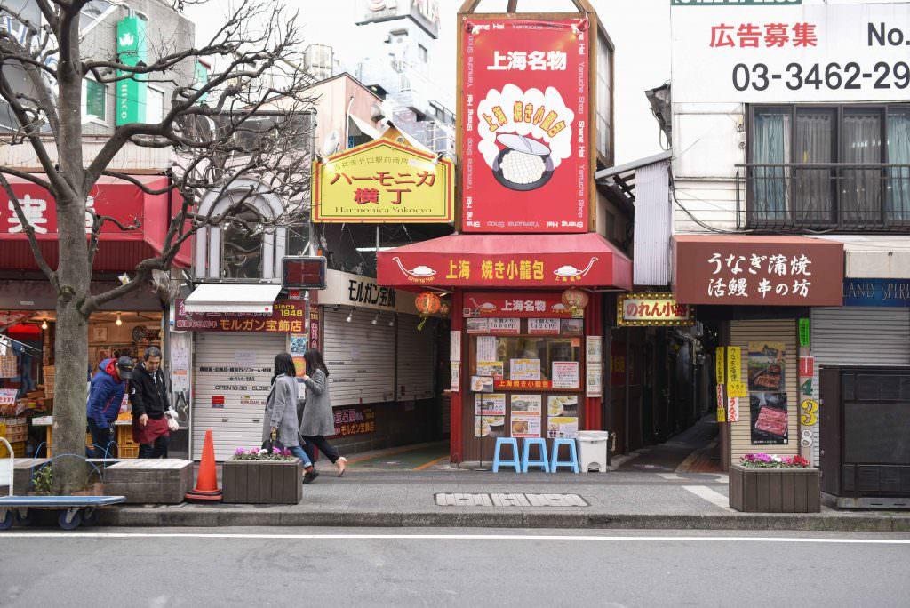 ร้านเซี่ยงไฮ้ ยากิ โชรมโปะ (SHANGHAI YAKI SHOROMPO) ร้านเสี่ยวหลงเปาทอด ในย่านคิชิโจจิ (Kichijoji)