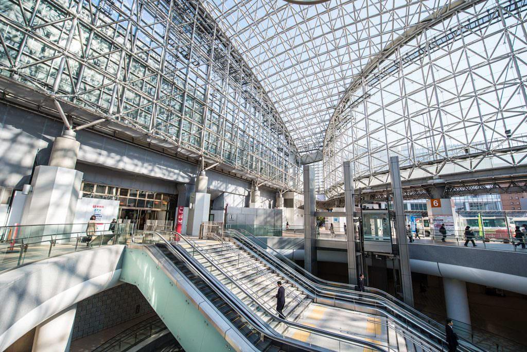 สถานีรถไฟ Kanazawa Station