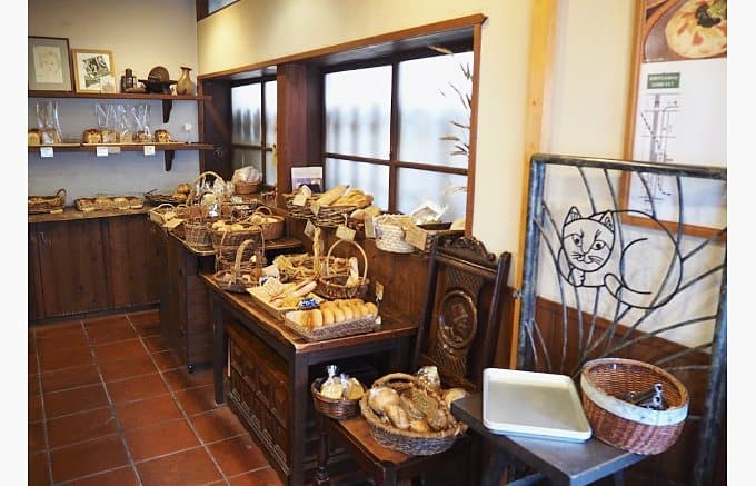 บรรยากาศภายในร้าน Kibiya Bakery