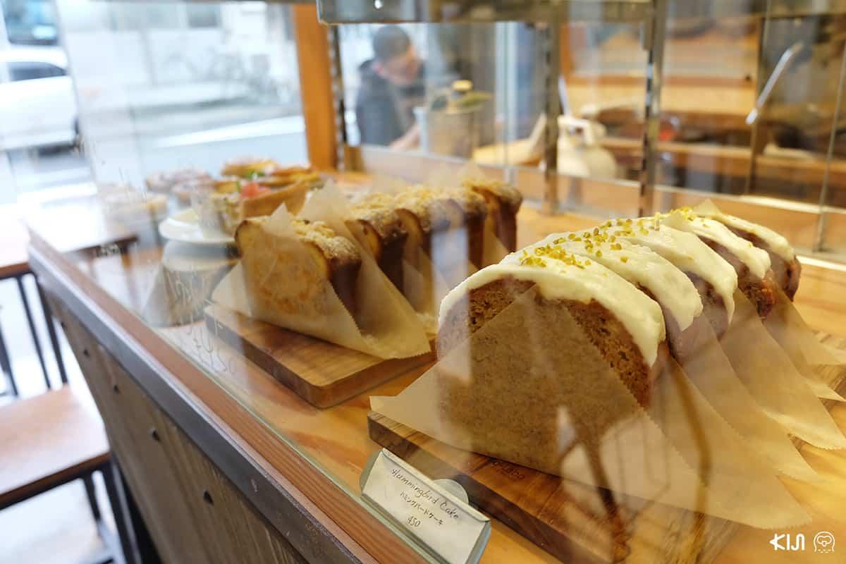 ขนมเค้กและขนมปังน่าทานจากร้าน IKI