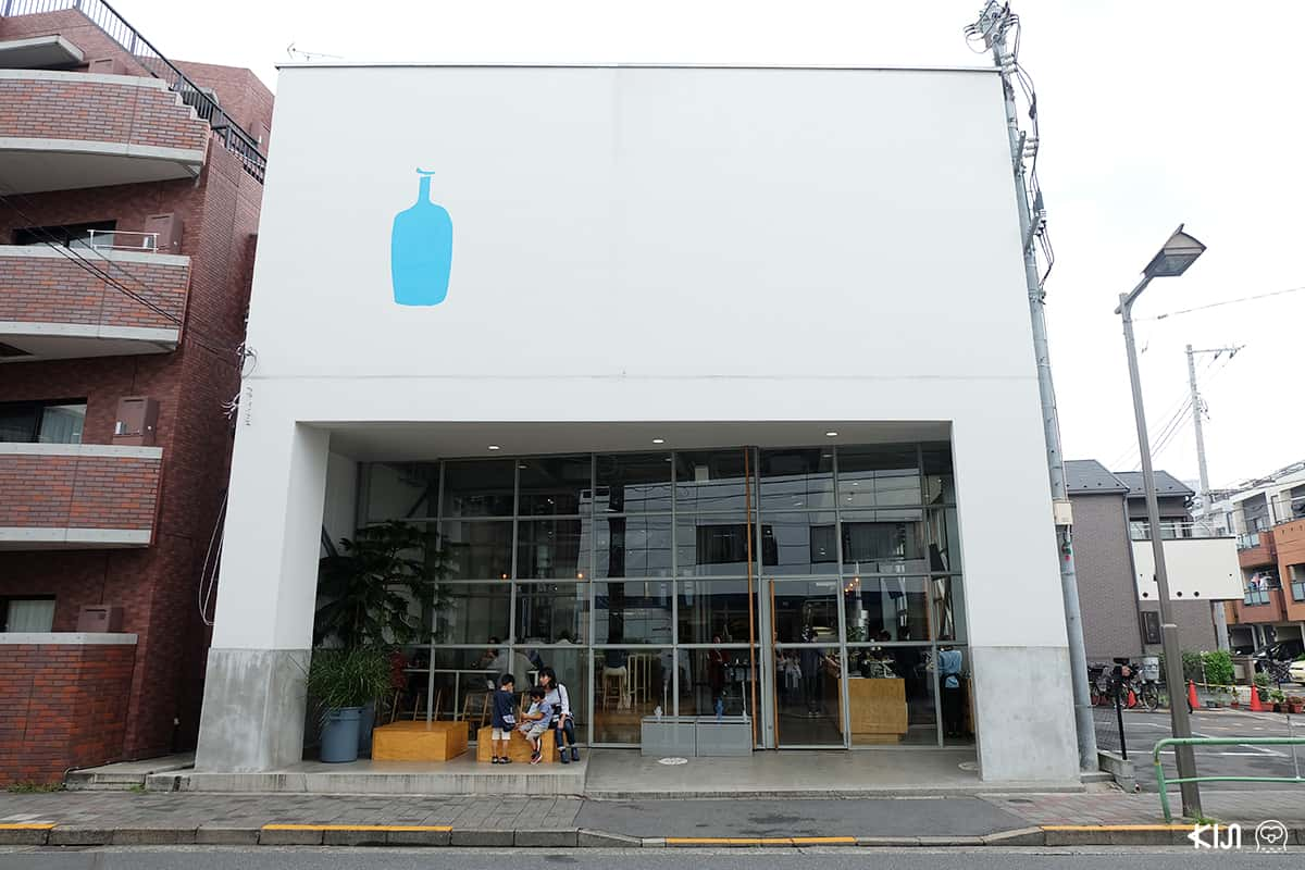 BLUE BOTTLE COFFEE สาขา Kiyosumi Shirakawa
