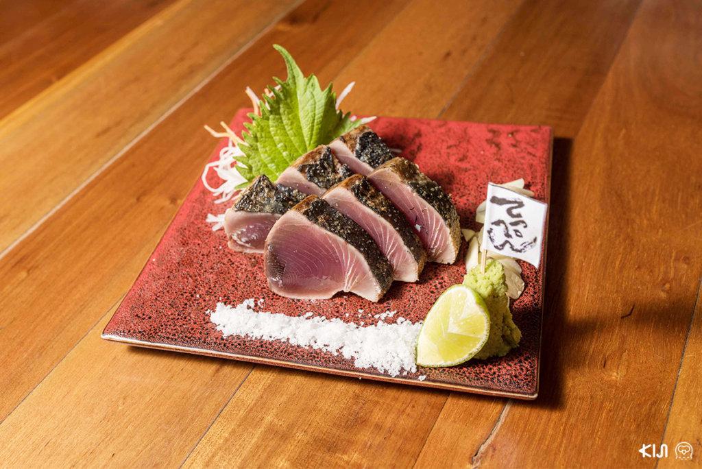 ปลาคัตสึโอะ วาระยากิ จากร้าน Teppen