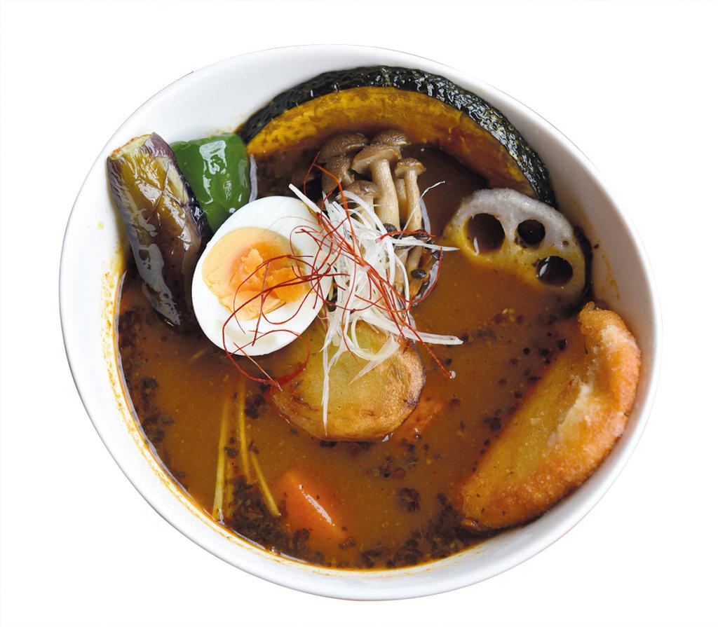 Soup Curry กันครับ เมนูนี้คืออาหารขึ้นชื่อของซัปโปโร และมีต้นกำเนิดที่เมืองนี้