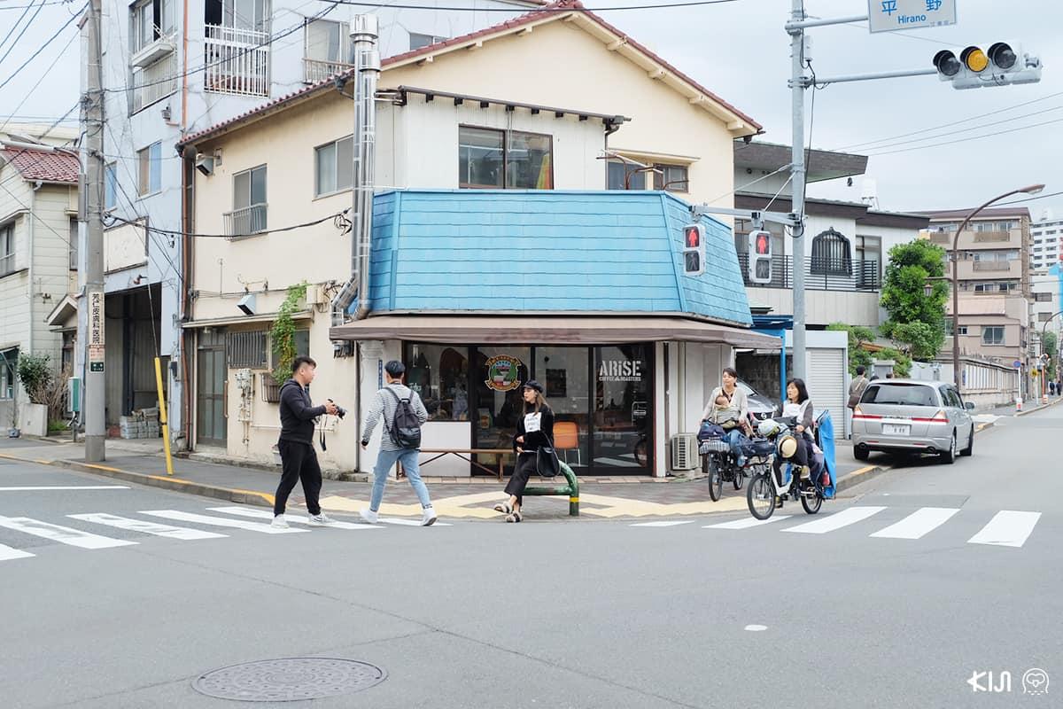 ร้านกาแฟแถวๆ Museum of Contemporary Art Tokyo (MOT)