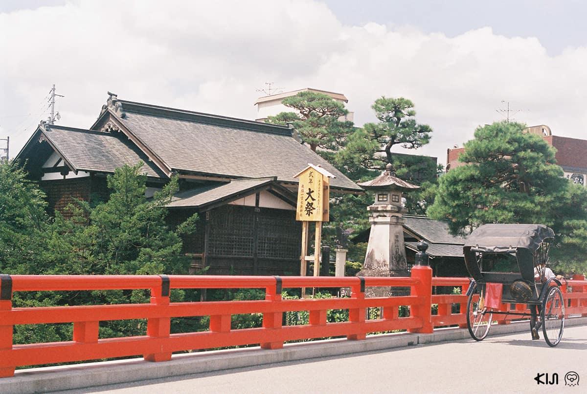 สะพานนากาบาชิ (Nagabashi bridge), Takayama