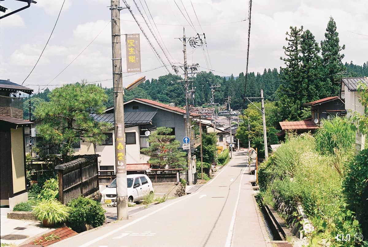 บ้านเรือนในทาคายาม่า (Takayama)