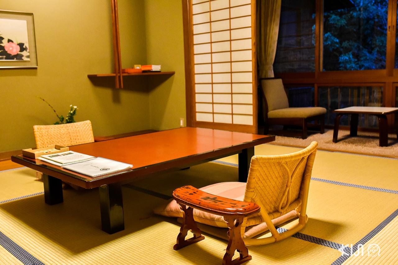 บรรยากาศภายในที่พัก Nishimuraya Honkan