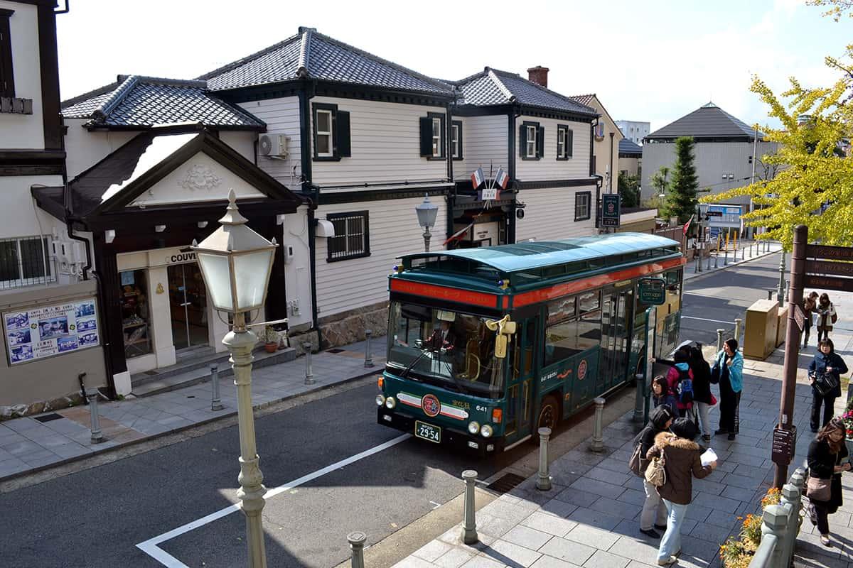 ย่านคิตาโนะ (Kitano) ย่านที่มีชื่อเสียงเรื่องกลุ่มอาคารเก่าแก่ทรงยุโรปที่มีอายุมากกว่า 100 ปี