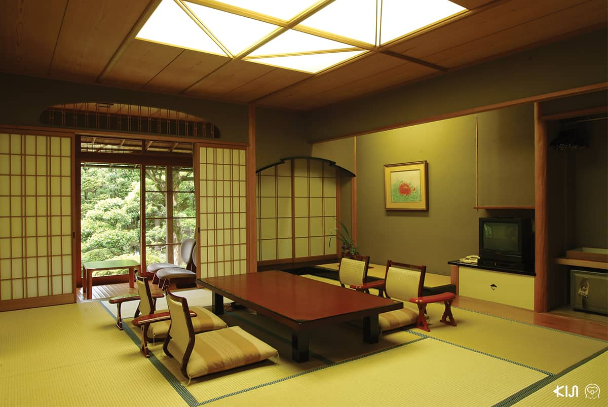 บรรยากาศภายในที่พัก Nishimuraya
