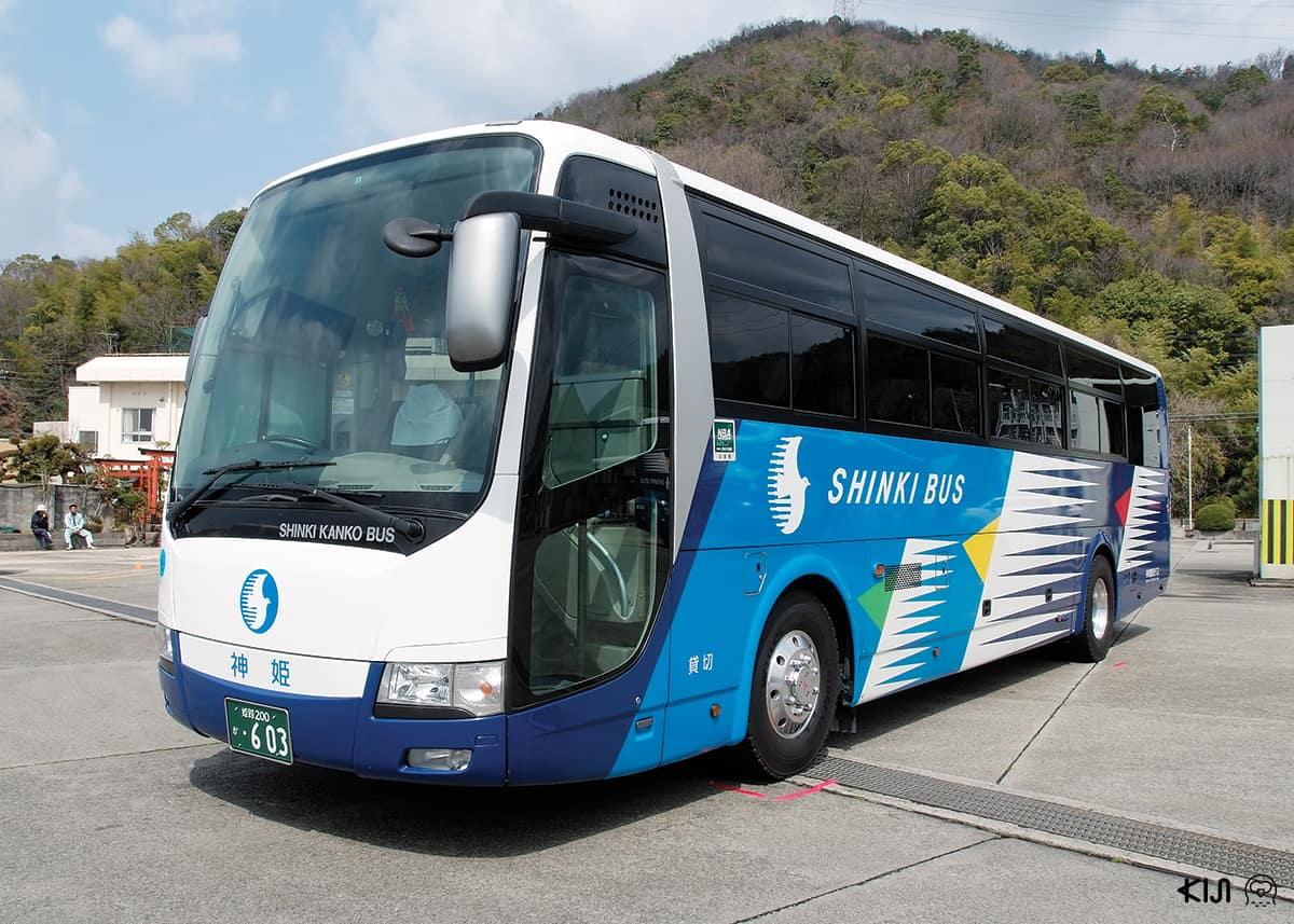 เดินทางด้วยรถลีมูซีนบัส (Shinki Bus)