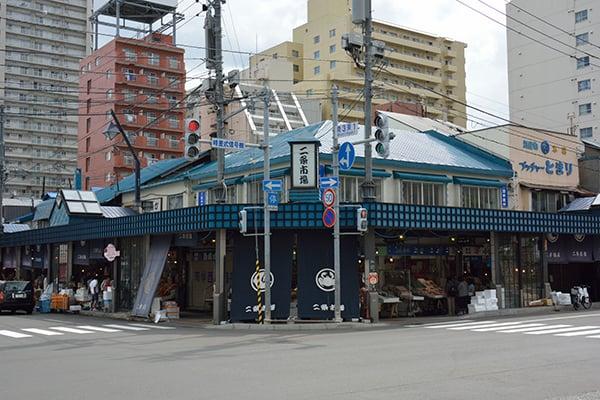 ตลาดปลาน่าเดินในฮอกไกโด : ตลาดปลานิโจ (Nijo Market)