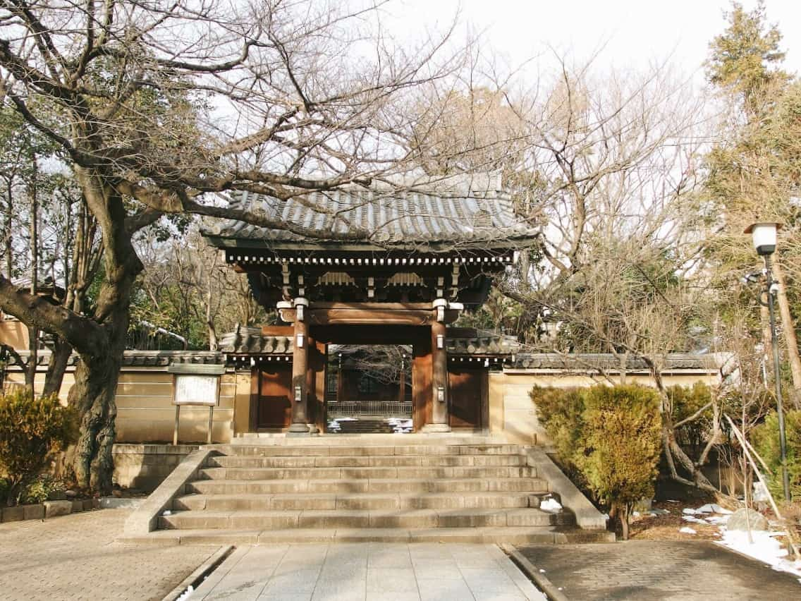 วัดในประเทศญี่ปุ่น : วัดโฮเมียวจิ (Homyo – Ji Temple)